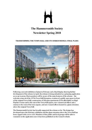 2018 Spring newsletter