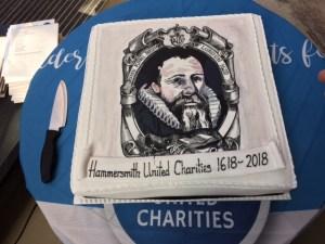 Hammersmith United cake - 400 years