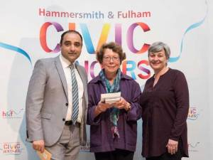 Melanie Whitlock - Civic Award 2019