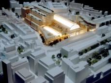 AGM19 - Olympia redevelopment model in Upper Pillar Hall