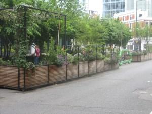 Hammersmith Grove Parklets