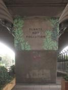 Plants not pollution - Hammersmith Flyover