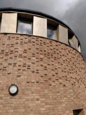 Quaker meeting house brickwork
