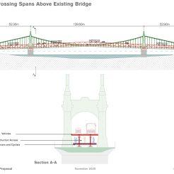Temporary bridge - overview
