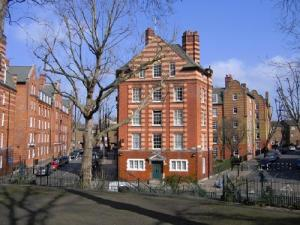 Hurley House from Arnold Circus