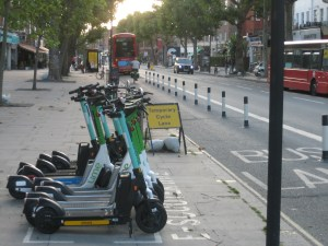 E-scooter trial, King St