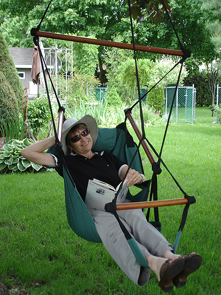 hanging hammock chair dining covers walmart canada choosing the adjustable with foot rest
