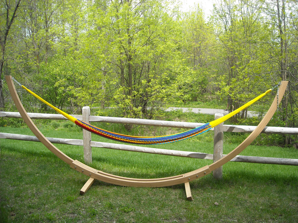 hammock chair with stand sure fit parsons slipcovers choosing the bamboo - eco-friendly xl » buy online h.d. usa