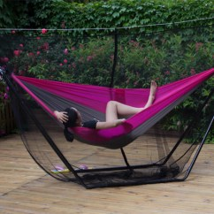 Steel Hammock Chair Stand Desk Teal Choosing The Mosquito Net For Hammocks » Buy Online H.d. Usa
