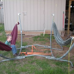 Hammock Chair Stands Diy Inexpensive Adirondack Chairs 26 Awesome Pixelmari