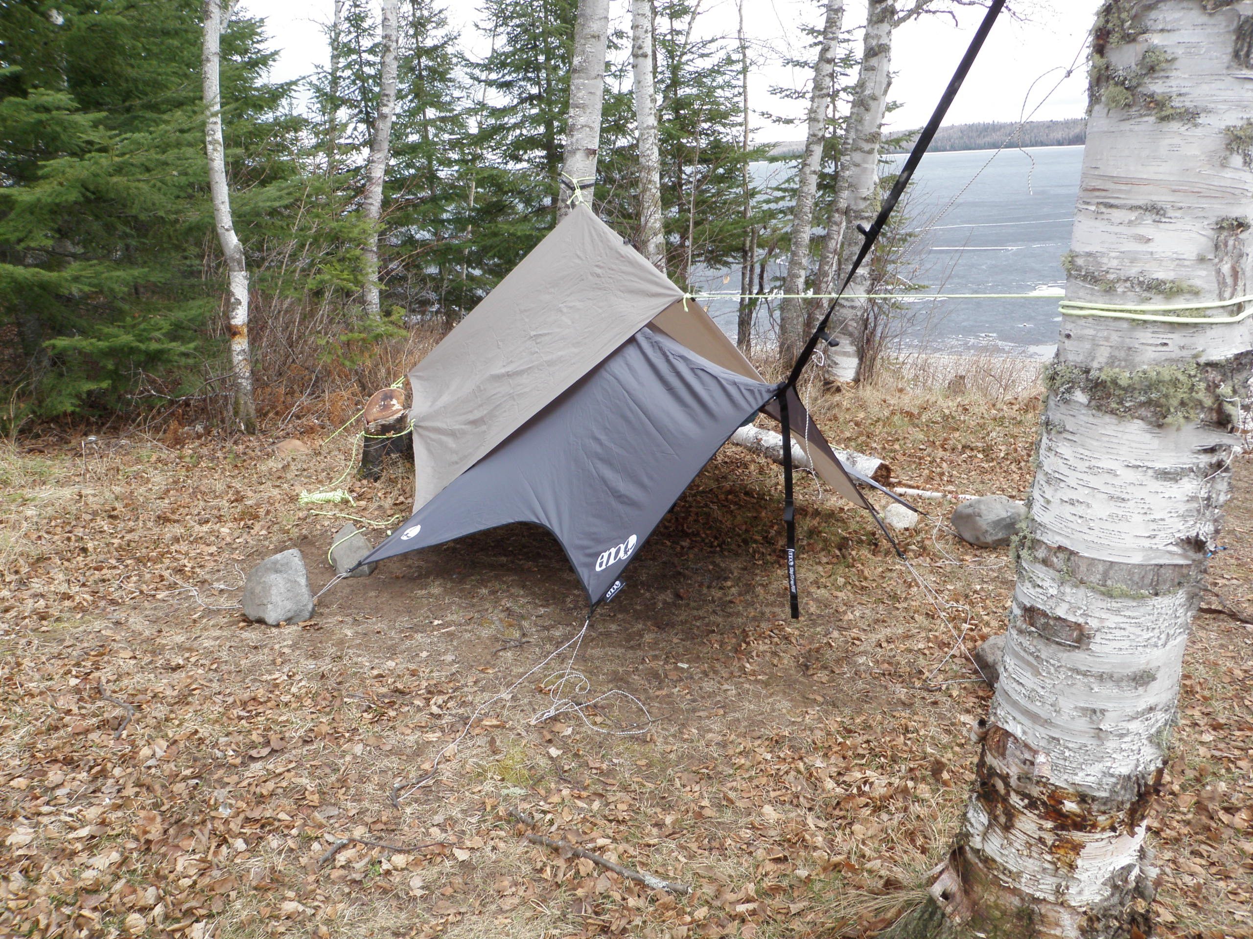 Eno Rain Fly With A Mec Scout