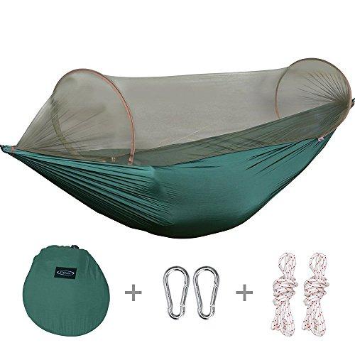 g4free portable  u0026 foldable camping hammock mosquito   hammock tent capacity 440 lbs outdoor  u0026 indoor crehouse camping hammock tent with mosquito   and rainfly rain      rh   hammocktentshop