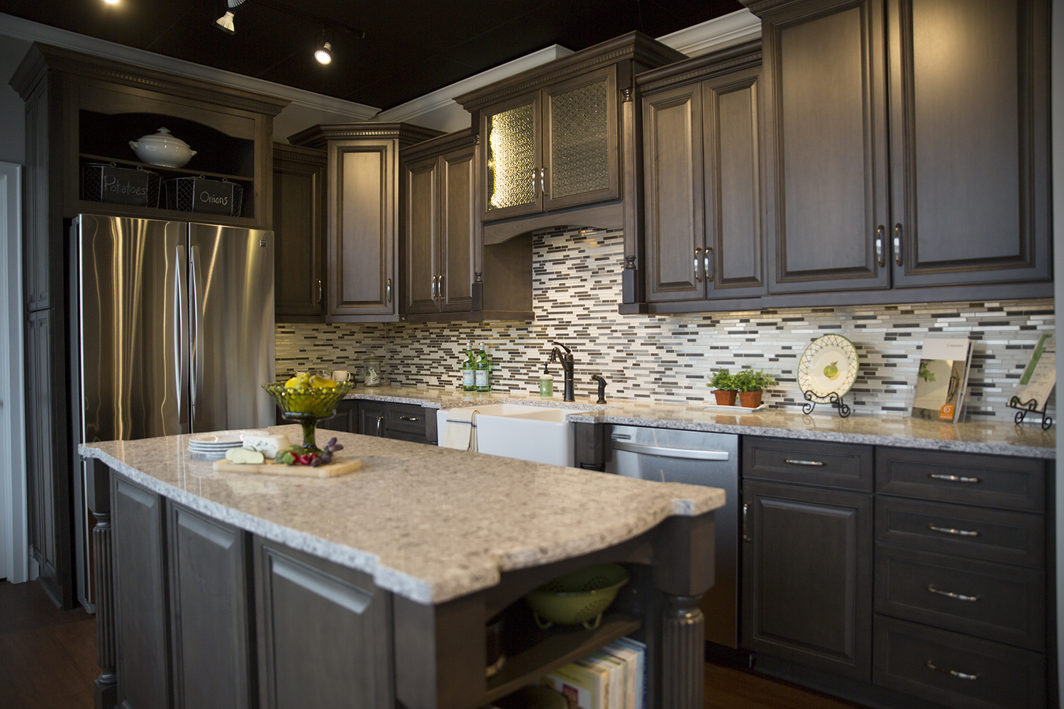 kitchen cabinets and countertops full marsh furniture gallery  bath remodel custom