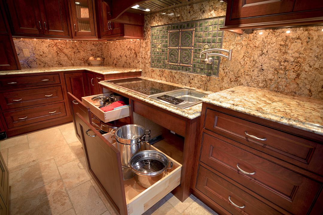 Country Style Kitchen Countertops