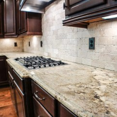 Granite Kitchen Countertops Pictures Stainless Steel Cabinet And Bath Countertop Installation Photos In Brevard