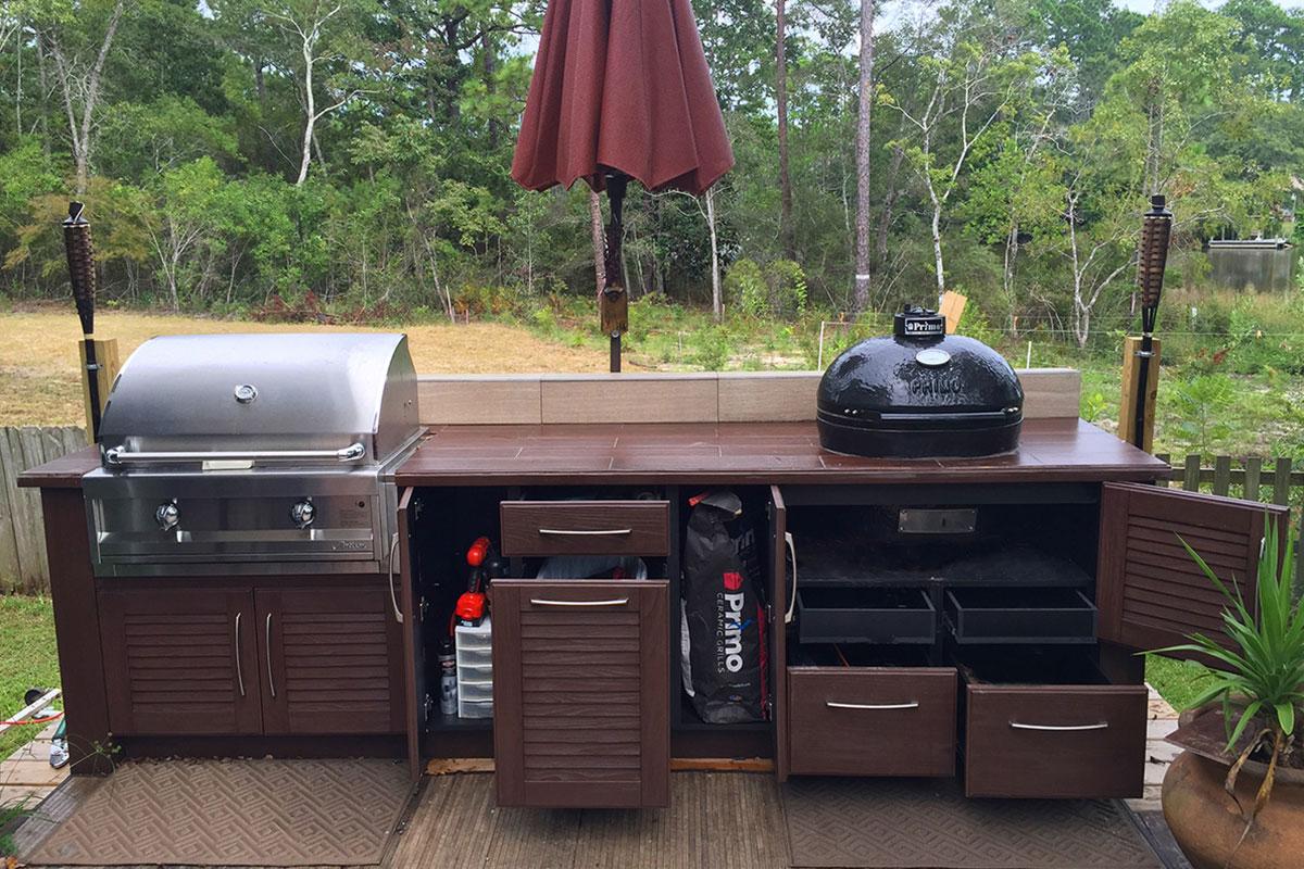 summer kitchens kitchen stove top naturekast outdoor cabintes in melbourne fl by cabinets cabinet installation hammand bath