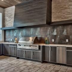 Summer Kitchen Design Do It Yourself Outdoor Best Weatherproof Cabinets In