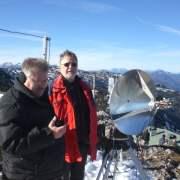 122-GHz-wereldrecord OE3WOG/p en OE/DL3MBG/p