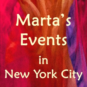 Join Marta Stemberger at events in NYC