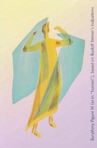 "Eurythmy Figure H (as in ""human""), based on Rudolf Steiner's indications"