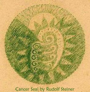 Cancer Seal by Rudolf Steiner