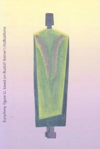 Eurythmy figure U, based on Rudolf Steiner's indications