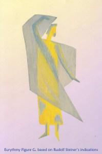 Eurythmy figure G, based on Rudolf Steiner's indications