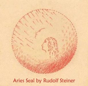 Aries Seal by Rudolf Steiner