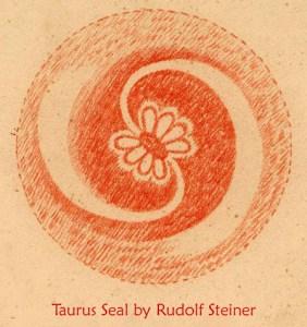 Taurus Seal by Rudolf Steiner