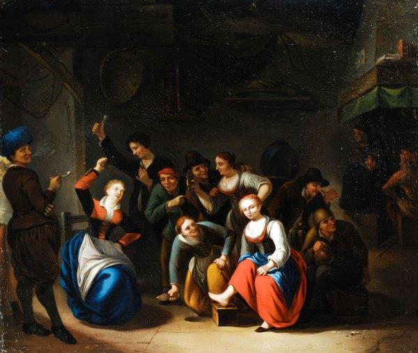 Gerrit Lundens 1622 - 1677 Hampel Fine Art Auctions
