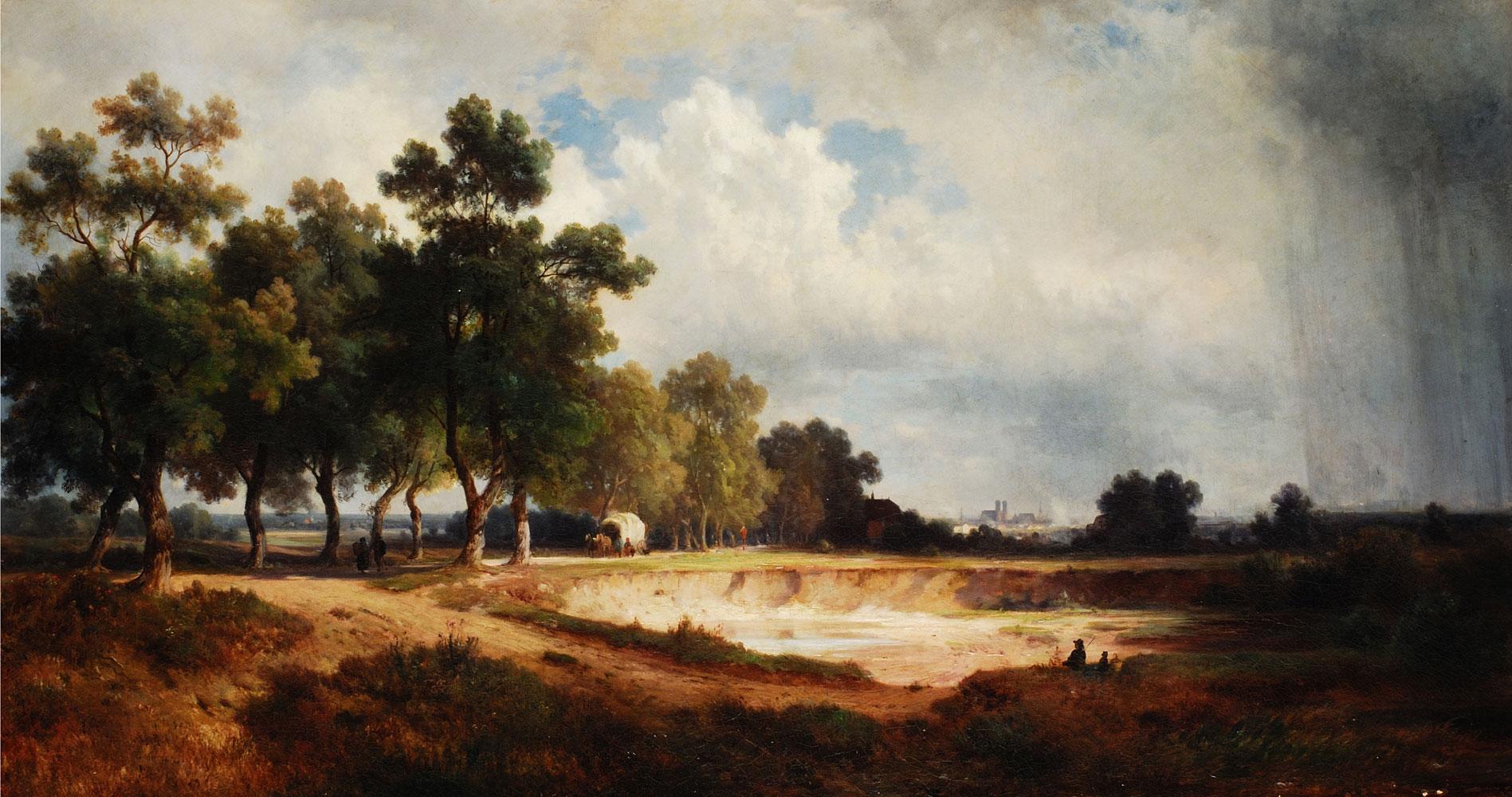 Eduard Schleich 1812  1874  Hampel Fine Art Auctions