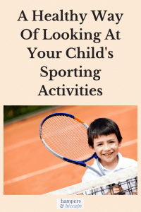 A Healthy Way Of Looking At Your Child's Sporting Activities