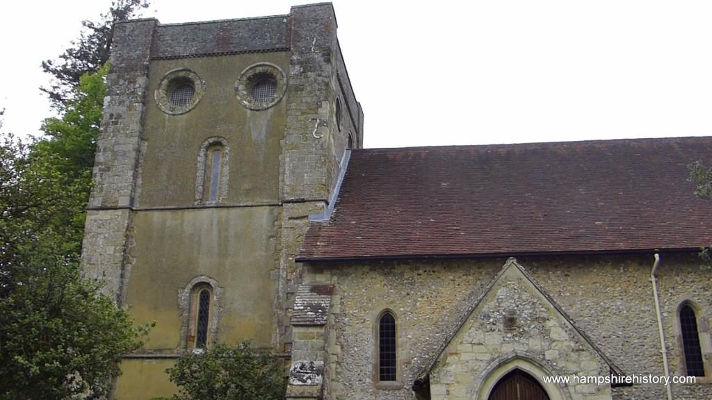 St Wilfrid at Warnford