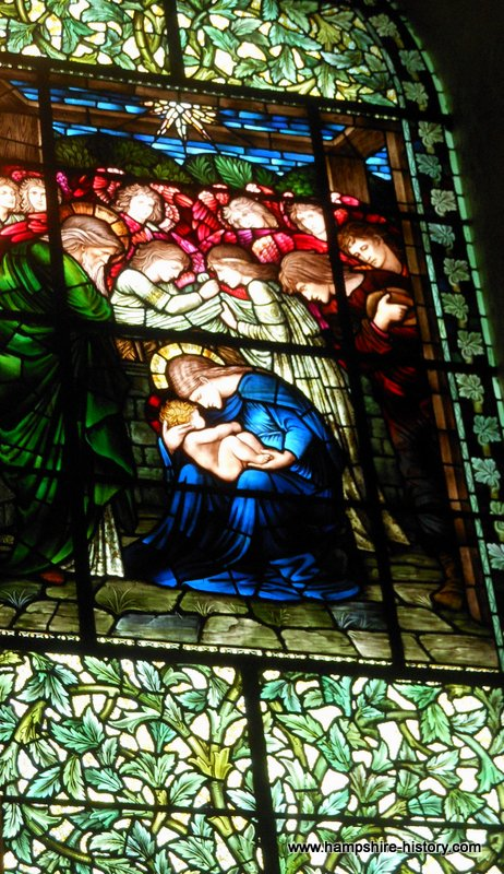 Edward Burne-Jones and Winchester Cathedral