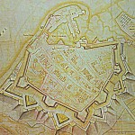 Desmaretz Map Portsmouth 1744