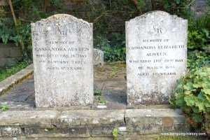 Jane Austen family graves