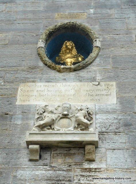 King Charles I memorial Portsmouth