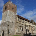 Mary Mitford baptised St John's Alresford