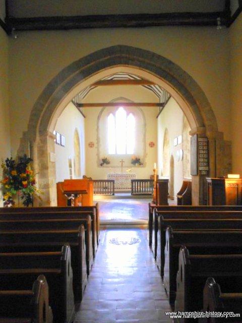 St Nicholas church Bishops Sutton