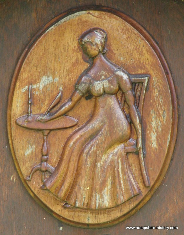 Jane Austen Born in Steventon
