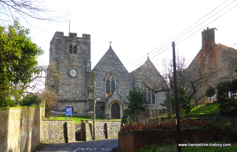 St Mary's Church Eling Hampshire
