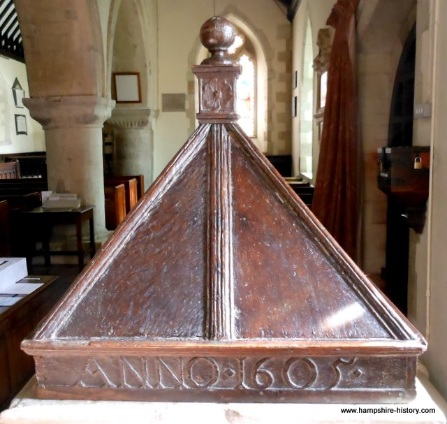The Splendid Baptismal Font Bentworth
