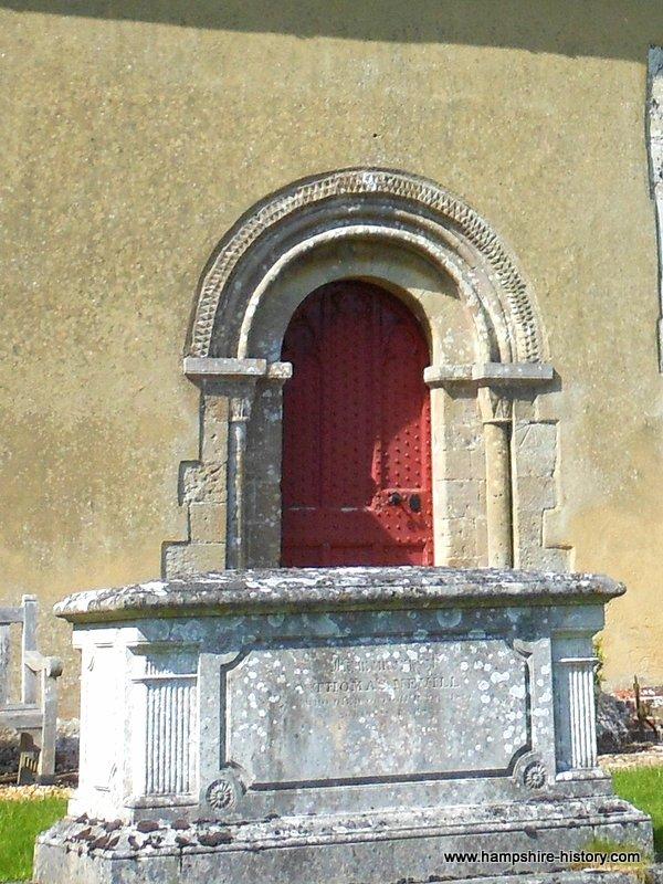 St Swithun's church Martyr Worthy