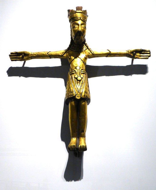 Christian symbols begin to present themselves in Viking culture