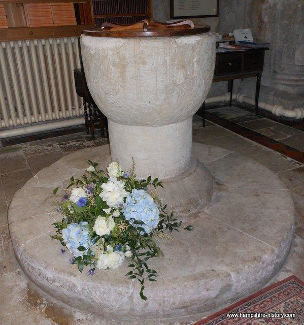 Baptismal Font Selborne