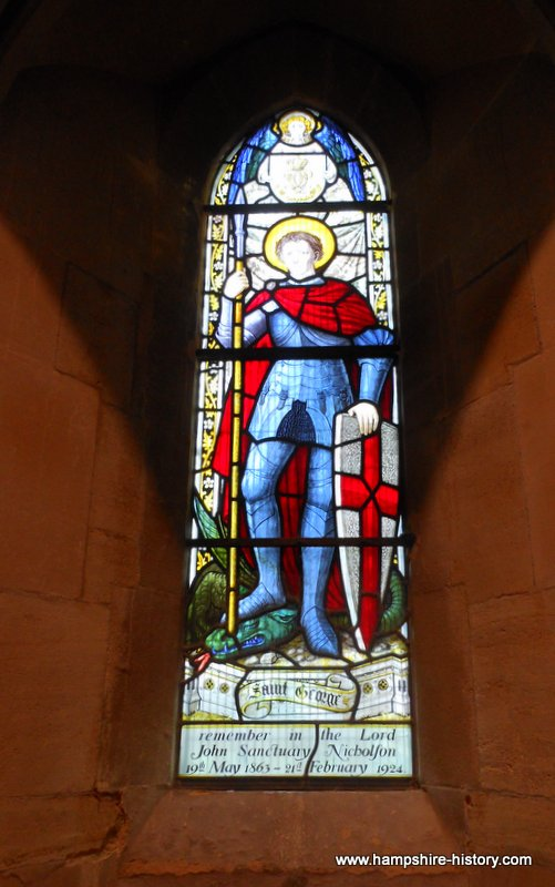 St George in Hampshire