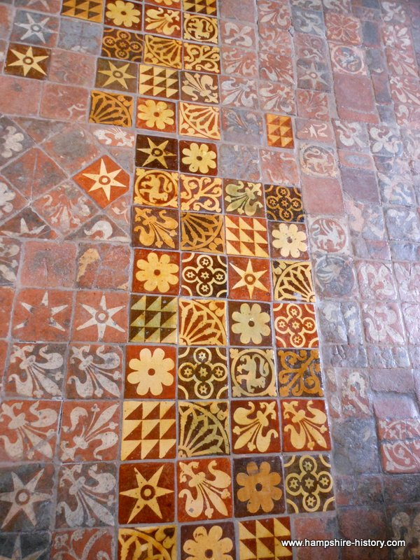 Medieval Floor Tiles in Hampshire