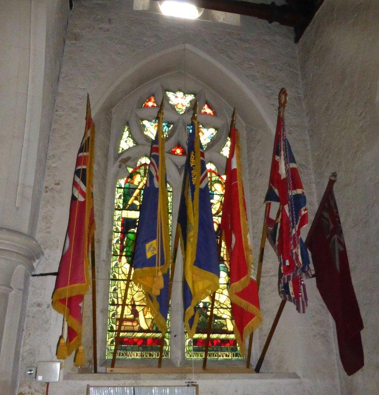 Canadian Ensign in Bramshott