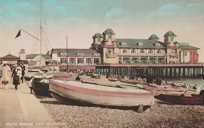 South Parade Pier Southsea 1928