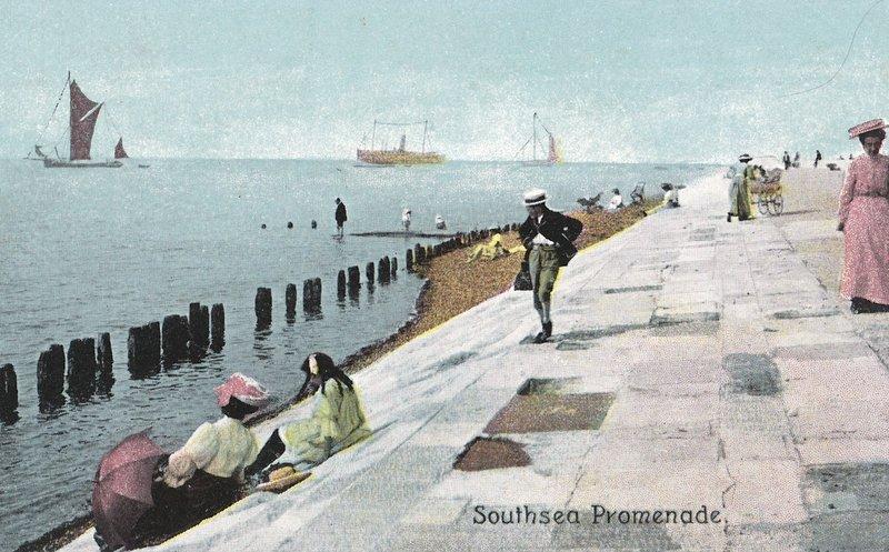 Southsea Promenade 1901